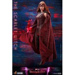 Figura Bruja Escarlata Scarlet Witch Wandavision Hot Toys