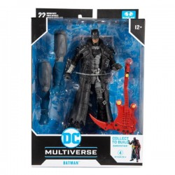 Figura Batman Dark Nights Death Metal Build A DC Multiverse McFarlane Toys