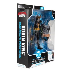 Figura Robin King Dark Nights Death Metal Build A DC Multiverse McFarlane Toys