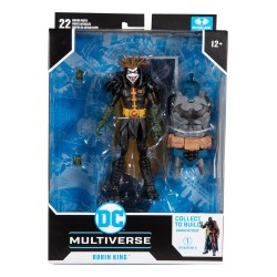 Figura Robin King Dark Nights Death Metal Build A DC Multiverse McFarlane Toys