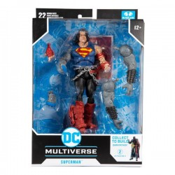 Figura Superman Dark Nights Death Metal Build A DC Multiverse McFarlane Toys