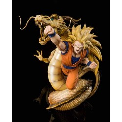 Figura Son Goku Super Saiyan 3 Dragon Ball Z First Explosion Figuarts Zero