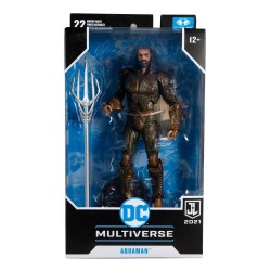 Figura Aquaman Justice League Multiverse McFarlane Toys