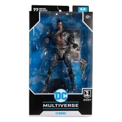 Figura Cyborg Justice League Multiverse McFarlane Toys