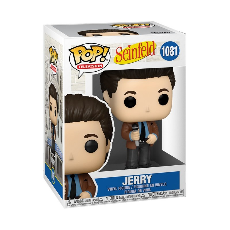 Figura Jerry Seinfeld Stand Up Seinfeld Funko Pop TV 1085