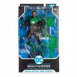 Figura John Stewart Green Lantern Rebirth Multiverse McFarlane Toys