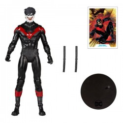 Figura Nightwing Joker Death of The Family Multiverse McFarlane Toys