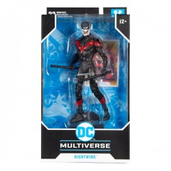 Figura Nightwing Joker Death of The Family Multiverse McFarlane Toys