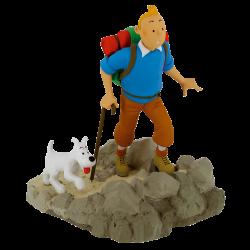 Figura Tintín Excursionista Alpinista Resina
