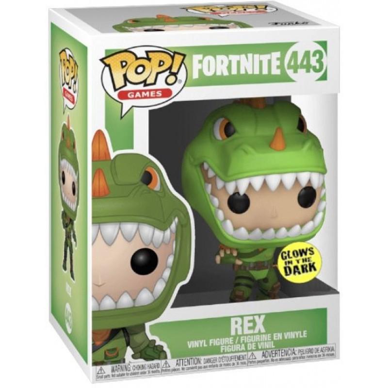 Rex Fortnite POP Funko 443 Limited Edition