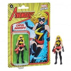 Imagén: Figura Capitana Marvel Marvel Legends Retro
