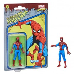 Figura Spiderman Marvel Legends Retro
