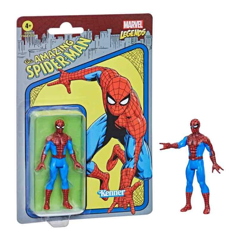 Figura Spiderman Marvel Legends Retro