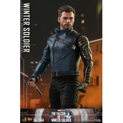 Figura Soldado de Invierno The Falcon and the Winter Soldier Hot Toys