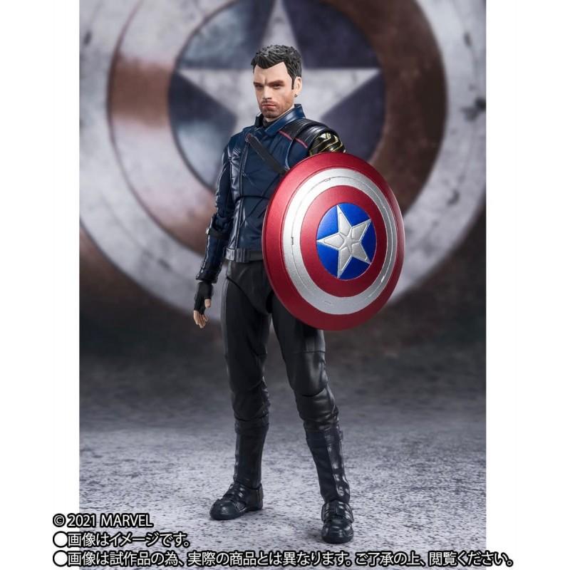 Figura Bucky Barnes The Falcon And The Winter Soldier S.H. Figuarts