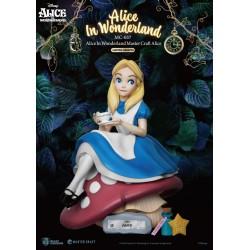 Estatua Alicia en el País de las Maravillas Disney Master Craft Beast Kingdom