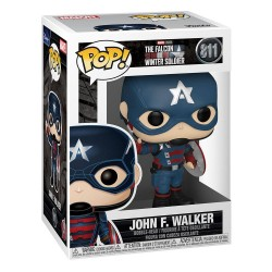 Figura Capitán América John Walker The Falcon And the Winter Soldier Funko Pop 811