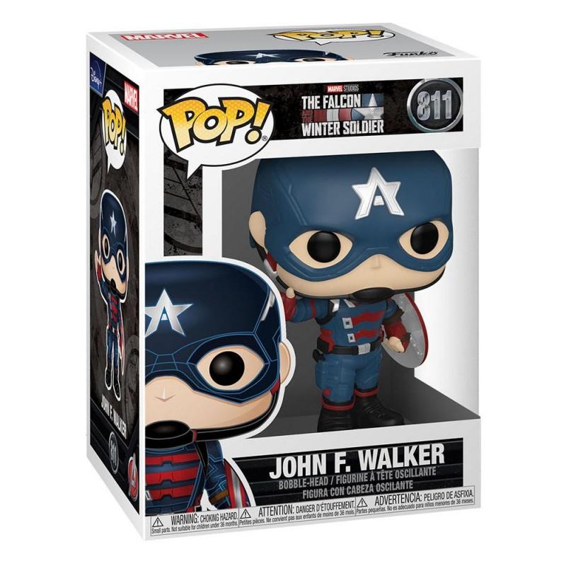 Figura Capitán América John Walker The Falcon And the Winter Soldier Funko Pop 811