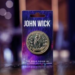 Imagén: John Wick Moneda De Oro Luxury Pin Esmaltado (Versión A)