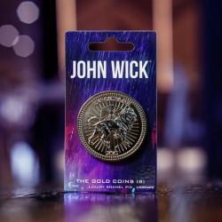 Pin John Wick Moneda De Oro Luxury Enamel (Versión B)