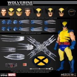 Figura Wolverine Deluxe Steel Box Edition Lobezno 1/ 12 Mezco