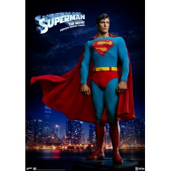 Imagén: Estatua Superman The Movie Christopher Reeve 1978 Premium Format Sideshow
