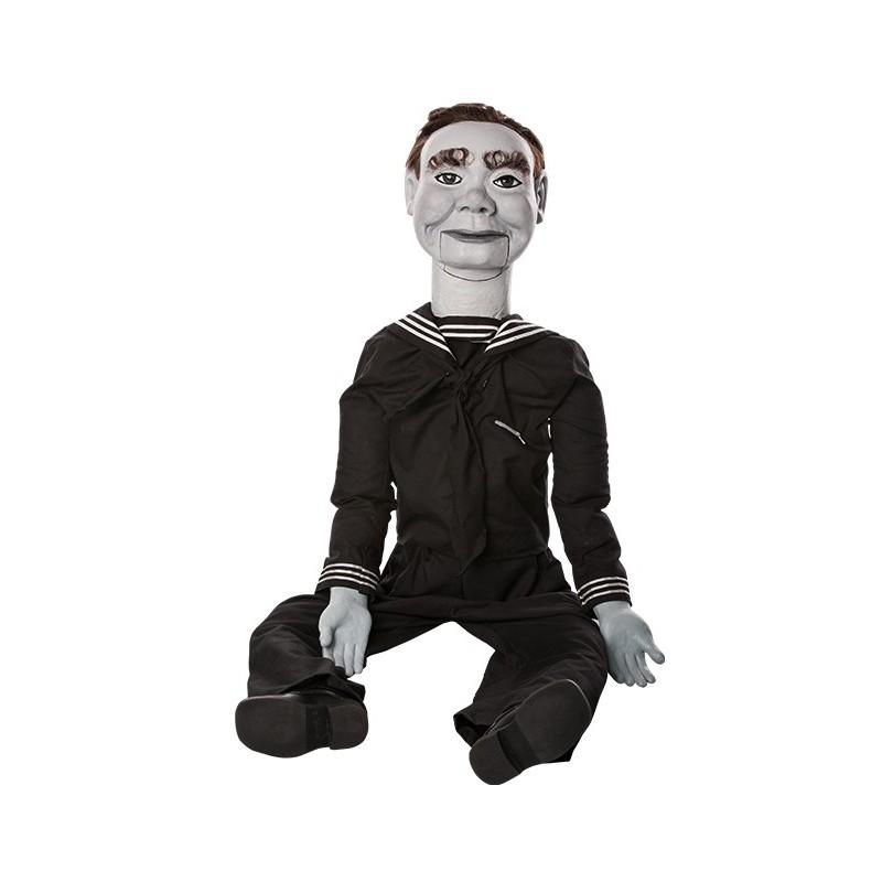 Réplica 1:1 Marioneta Willie The Dummy The twilight Zone