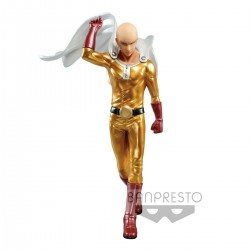 Figura One Punch Man DXF Premium Figure Saitama Metalic Color Bandai