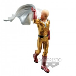 Figura One Punch Man DXF Premium Figure Saitama Metalic Color Bandai