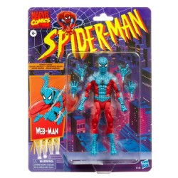 Figura Web-Man Marvel Legends