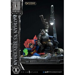 Estatua Batman vs Superman The Dark Knight Master Race Deluxe Bonus Version Escala 1:3 Prime1 Studio