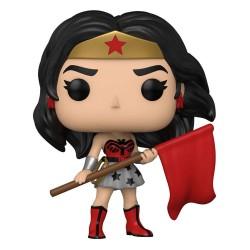 Figura Wonder Woman Hijo Rojo 80 Aniversario POP Funko 392