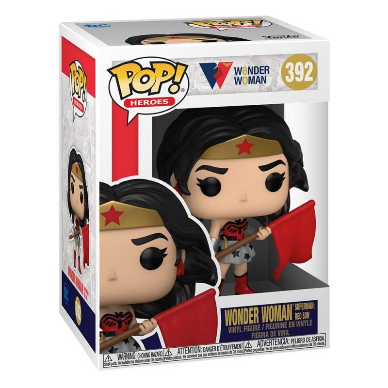 Figura Wonder Woman Heroes Vinyl 80 Aniversario Funko Pop DC