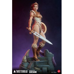 Figura Teela Masters del Universo Legends Maquette Tweeterhead Sideshow