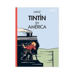 Tintin En América (Cubierta Locomotora. Coloreado)