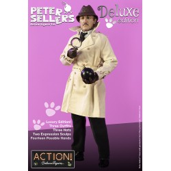 Figura Peter Sellers Inspector Clouseau Deluxe Version Infinite Statue Escala 1/6