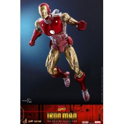 Figura Iron Man Suit Armor Marvel Comics Hot Toys