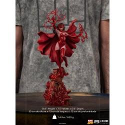 Estatua Scarlet Witch Bruja Escarlata Iron Studios Escala 1/10
