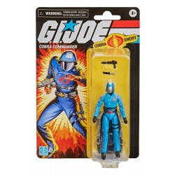Figura Commander Cobra G.I. Joe Retro Collection Series Hasbro