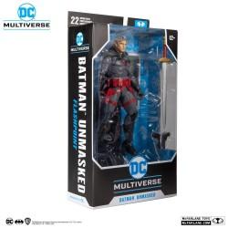 Figura Thomas Wayne Flashpoint Batman Unmasked DC Multiverse McFarlane Toys