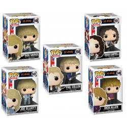 Set Figuras Def Leppard POP Funko Rocks