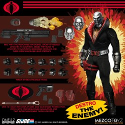 Figura Destro G.I. Joe  Mezco The One:12 Marvel