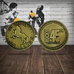 Moneda Conmemorativa Rocky 45 Aniversario