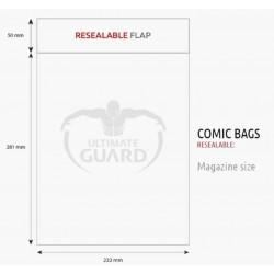 Bolsas Protectoras para Cómics Tamaño Magazine