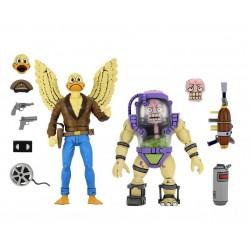 Pack Figuras Ace Duck y Mutagen Man TMNT Tortugas Ninja Neca