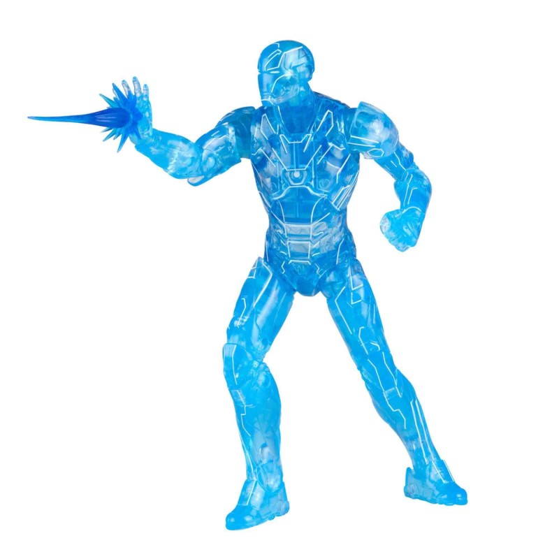 Figura Iron Man Hologram Deluxe Marvel Legends