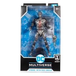 Figura Cyborg Con Casco  Zack Snyder´s Justice League 2021 DC Multiverse McFarlane Toys