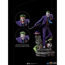 Estatua Joker Deluxe Version Escala 1:10 Iron Studios