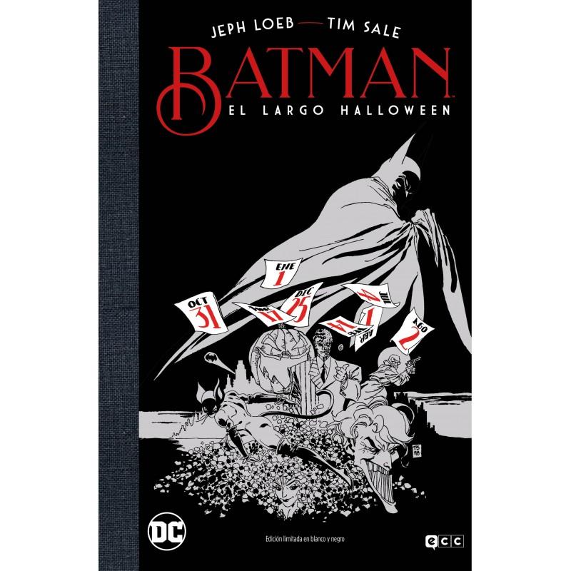 Batman: El largo Halloween (Edición deluxe Blanco y Negro)