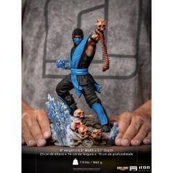 Estatua Sub-Zero Mortal Kombat Iron Studios Escala 1/10